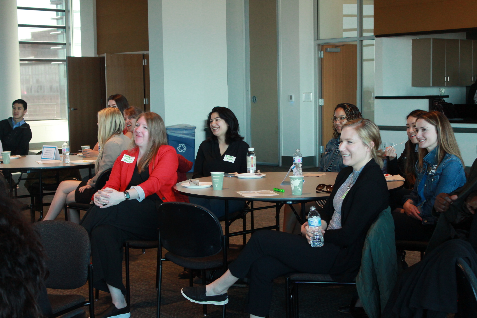 Employers listen to the impact of their contributions as worksite tour hosts.