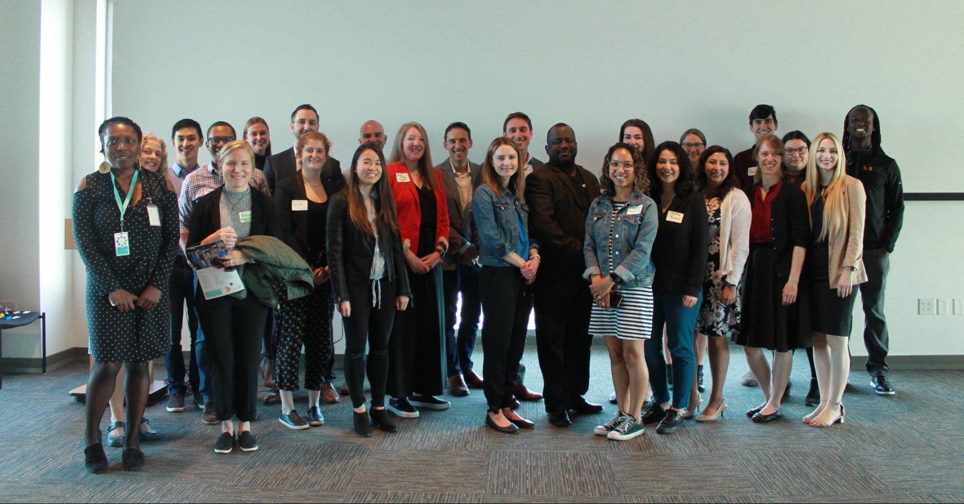 Worksite tour hosts and coordinators at our May 2019 appreciation breakfast.