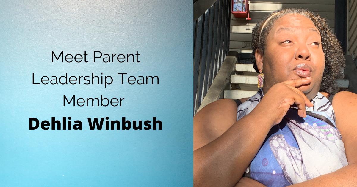 Photo and quote with Dehlia Winbush